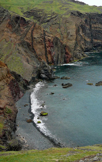East Madeira coast and cliffs
